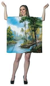 Bob Ross Painting Costume Dress