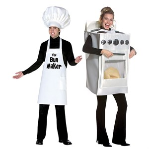 Bunmaker and Bun in the Oven Costume