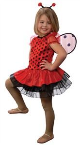 Child Ladybug Fairy Costume