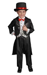 Child Magician Tuxedo Costume