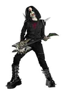 Child Metal Mayhem Costume