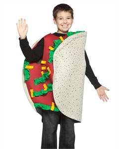 Child Taco Costume - 7-10