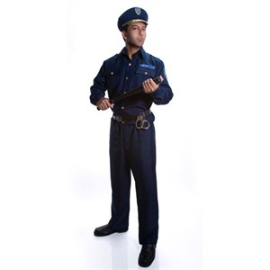 Adult Police Officer Costume