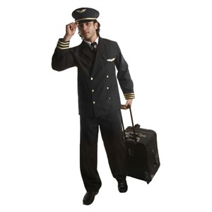Adult Pilot Jacket Costume
