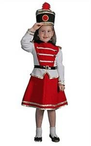 Child Drum Majorette Costume