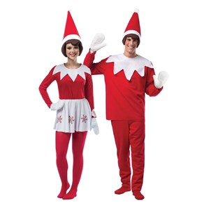 Elf on the Shelf Couples Costume