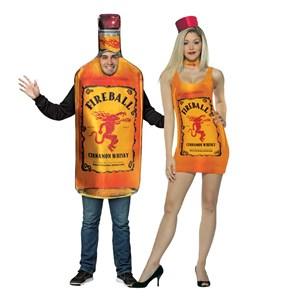 Fireball Whiskey Costume Set