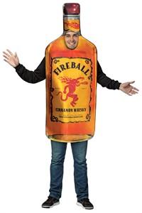 Fireball Whisky Bottle Costume