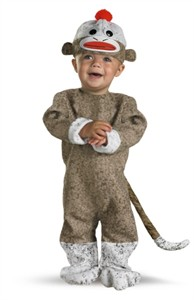 Baby Sock Monkey Costume