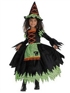 Toddler Story Book Witch Costume