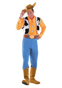 Adult Deluxe Woody Costume