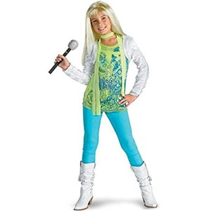 Child Deluxe Hannah Montana Costume with Shrug - Medium