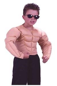 Child Muscle Shirt Costume