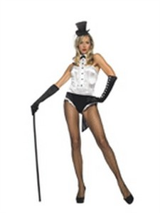 Leg Avenue Sexy Tuxedo Showgirl Costume