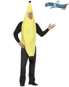 Adult Banana Costume - Lightweight