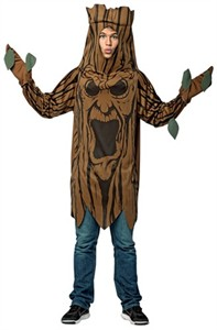 Adult Lightweight Scary Tree Costume