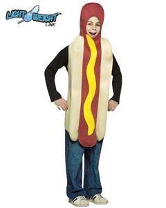 Child Hotdog Costume - Lightweight