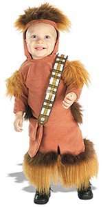 Toddler Chewbacca Halloween Costume