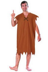 Adult Barney Rubble Costume
