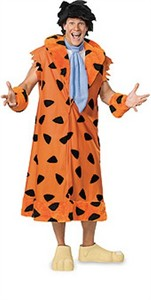 Adult Plus Size Fred Flintstone Costume