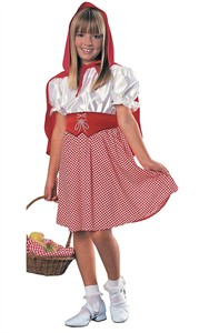 Child Red Riding Hood Costume - Large