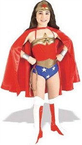 Toddler Wonder Woman Costume - Justice League