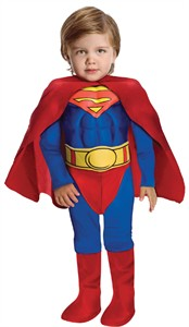 Toddler Deluxe Superman Costume - Muscle Chest