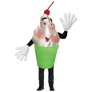 Frozen Yogurt Mascot