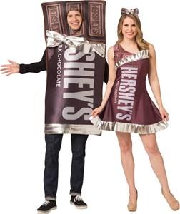 Hershey's Bar Tunic & Dress Couples Costume