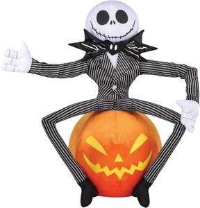 Jack Skellington on Pumpkin Greeter