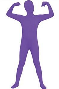Kids 2nd Skin Costume - Purple