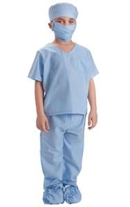 Kids Blue Scrubs Costume