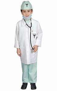 Kids Deluxe Doctor Costume Set - X-Large 16-18