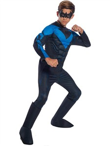 Kids Deluxe Nightwing Costume