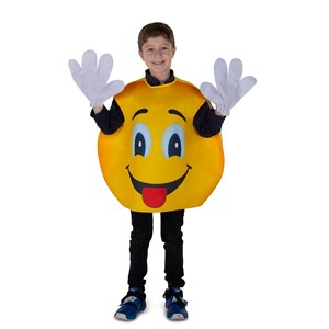 Kids Emoji Smiley Costume