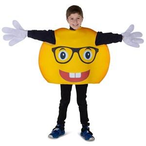 Kids Glasses Smiley Emoji Costume