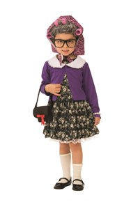 Kids Little Old Lady Costume