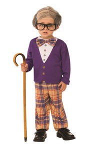 Kids Little Old Man Costume