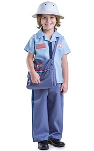 Kids Mail Carrier Costume