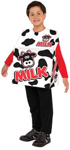 Kids Milk Costume