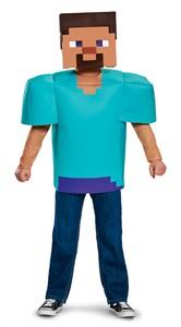 Kids Minecraft Steve Costume
