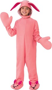 Kids Pink Bunny Costume