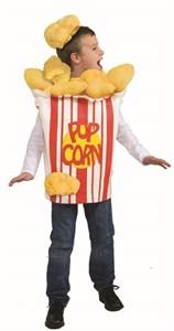Kids Popcorn Kernel Costume