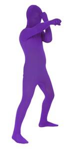 Kids Purple Morphsuit