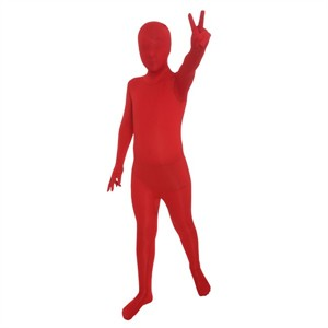 Kids Red Morphsuit