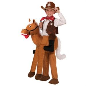 Kids Ride A Horse Costume