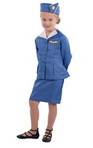Kids Stewardess Costume