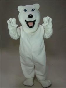 """Icey"" Polar Bear Mascot Costume"