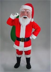 Santa Claus Mascot Costume