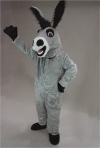 Friendly Donkey Mascot Costume